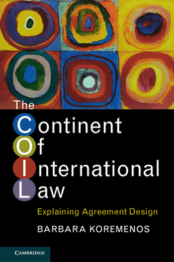 Cover of Continent of International Law book